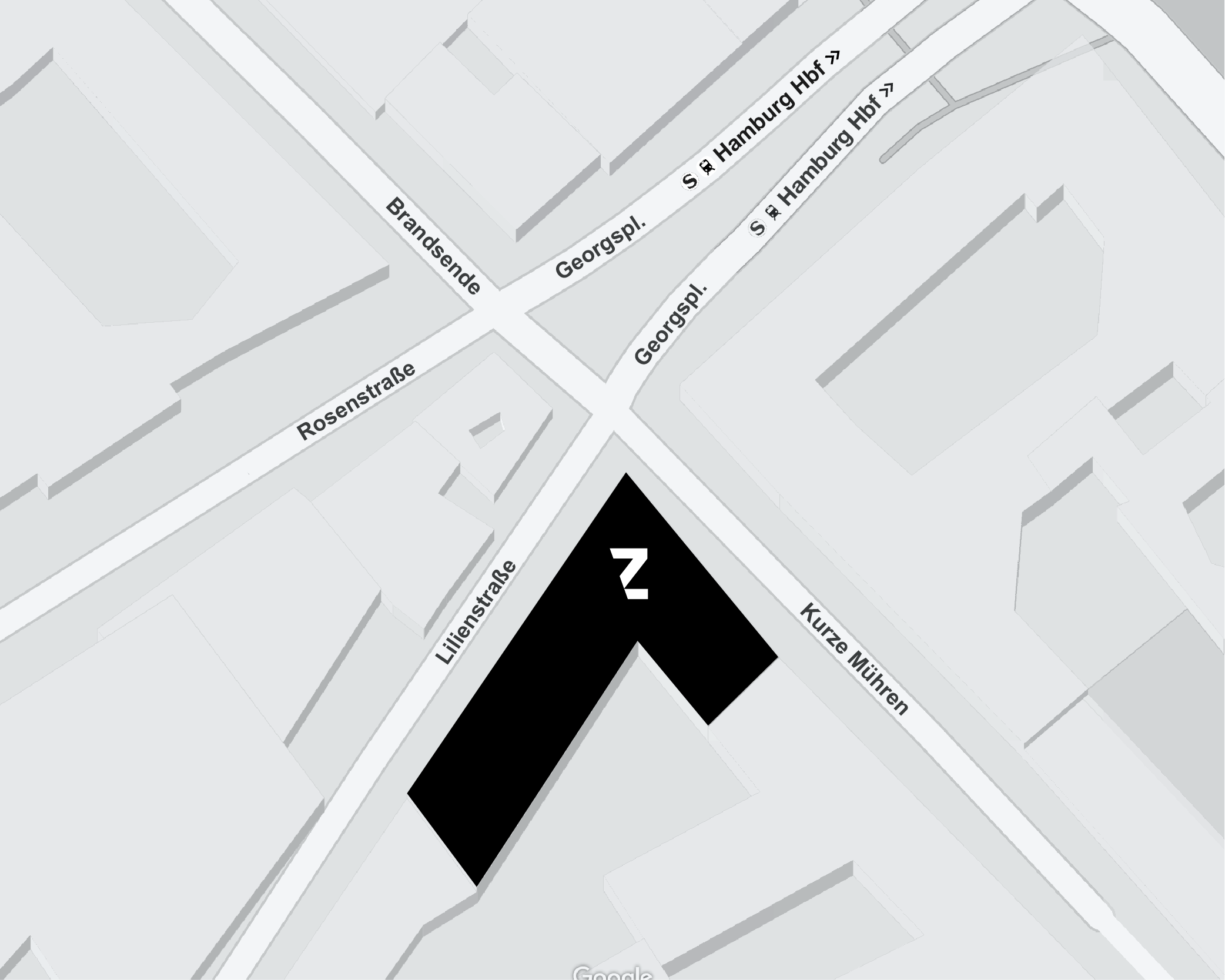 TABULARAZA Hamburg Map