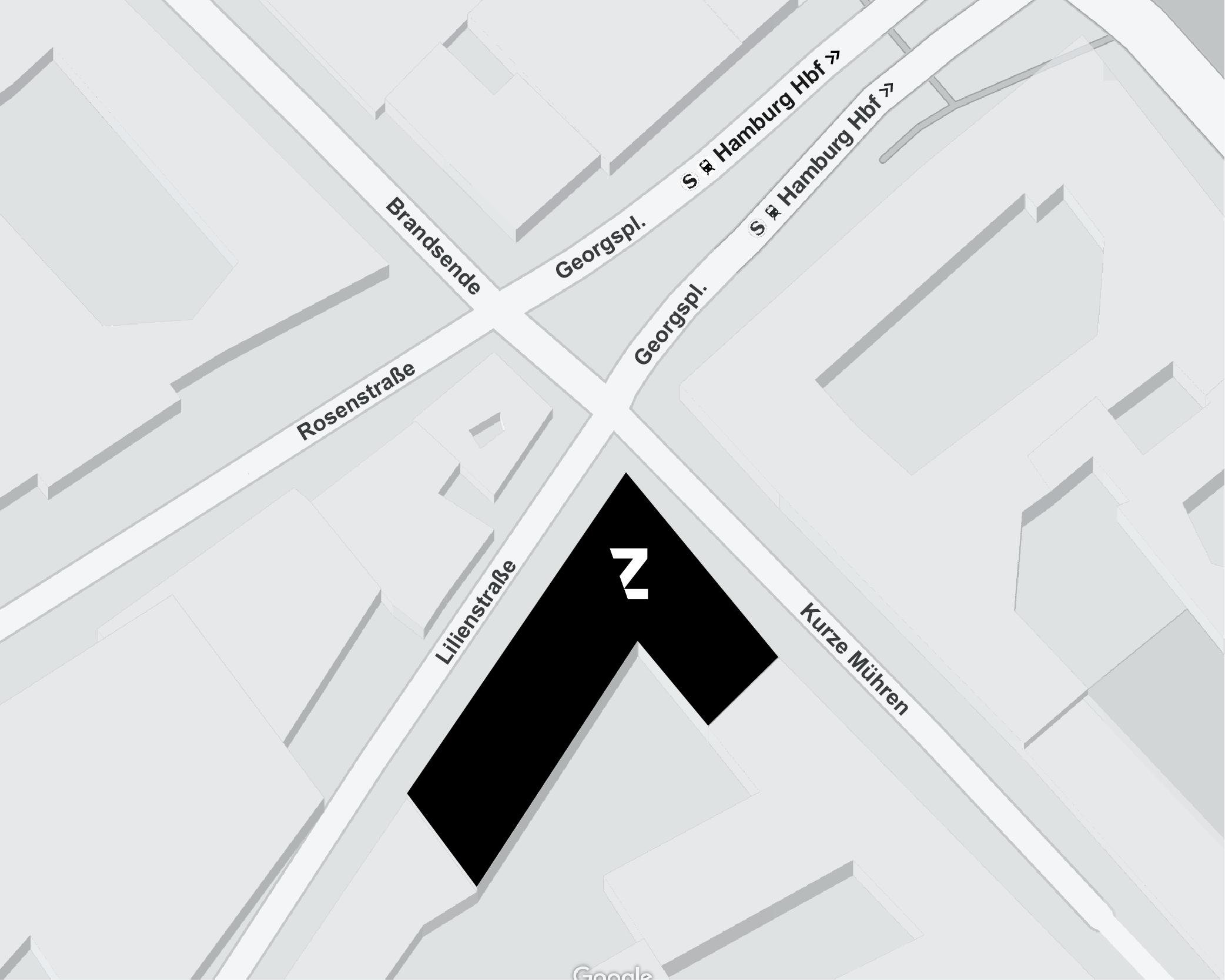 TABULARAZA Hamburg Map